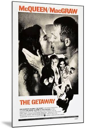 THE GETAWAY--Mounted Art Print