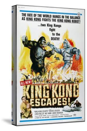 KING KONG ESCAPES--Stretched Canvas Print