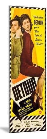 Detour, Tom Neal, Ann Savage, 1945--Mounted Art Print
