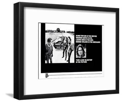 Two-Lane Blacktop--Framed Art Print
