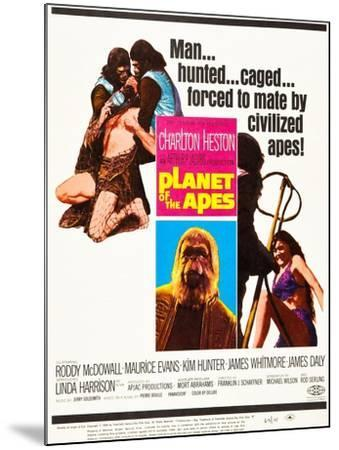PLANET OF THE APES--Mounted Art Print