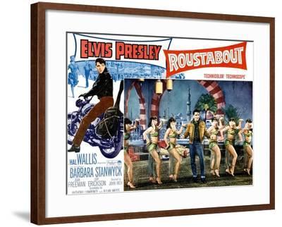 Roustabout, Elvis Presley, 1964--Framed Art Print