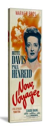 NOW, VOYAGER, top from left: Bette Davis, Paul Henreid, bottom: Bette Davis, 1942--Stretched Canvas Print