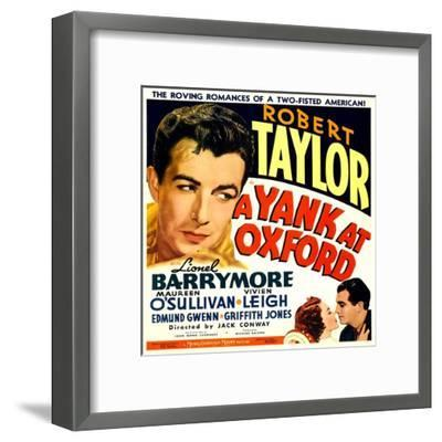 A YANK AT OXFORD--Framed Art Print