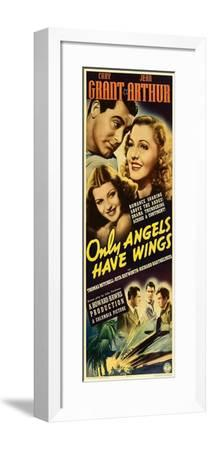 Only Angels Have Wings--Framed Art Print