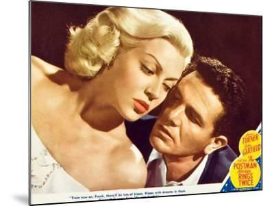 The Postman Always Rings Twice, Lana Turner, John Garfield, 1945--Mounted Art Print