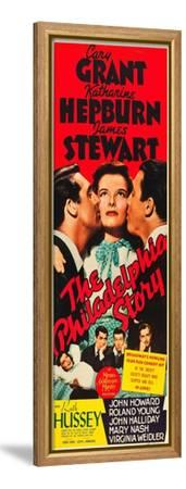 The Philadelphia Story, Cary Grant, Katharine Hepburn, James Stewart, 1940--Framed Stretched Canvas Print