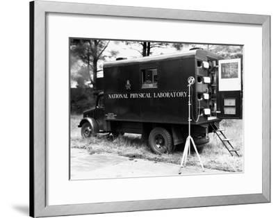 Mobile Acoustics Laboratory, 1940s-National Physical Laboratory-Framed Giclee Print
