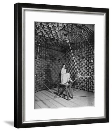 Testing An Audio System, 1959-National Physical Laboratory-Framed Giclee Print
