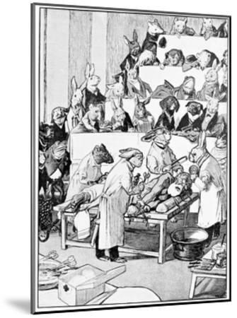 Medical Vivisection, Satirical Artwork-Science Photo Library-Mounted Giclee Print