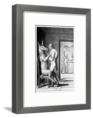 Animal Magnetism, Satirical Artwork-Science Photo Library-Framed Giclee Print