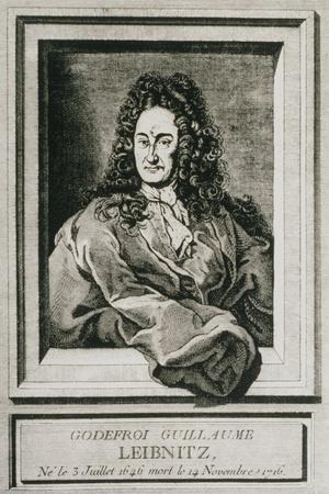 Gottfried Wilhelm Leibnitz, German Philosopher-Science Photo Library-Stretched Canvas Print