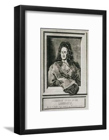 Gottfried Wilhelm Leibnitz, German Philosopher-Science Photo Library-Framed Giclee Print