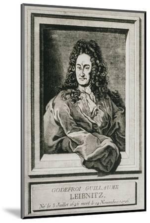 Gottfried Wilhelm Leibnitz, German Philosopher-Science Photo Library-Mounted Giclee Print