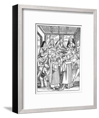 The Eaters of the Dead, Satirical Artwork-Science Photo Library-Framed Giclee Print