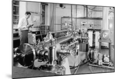 Caesium Atomic Clock-National Physical Laboratory-Mounted Giclee Print