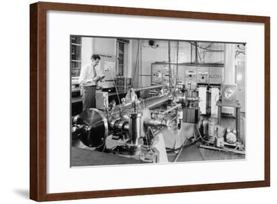 Caesium Atomic Clock-National Physical Laboratory-Framed Giclee Print