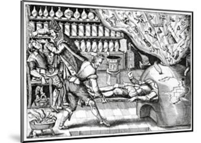 Medical Purging, Satirical Artwork-Science Photo Library-Mounted Giclee Print