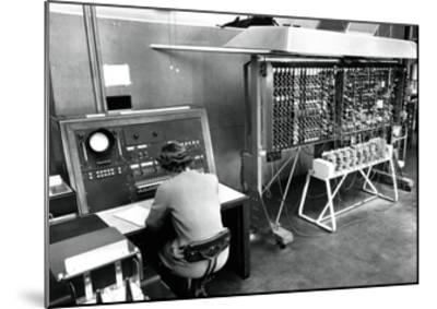 Pilot ACE Computer, 1952-National Physical Laboratory-Mounted Giclee Print