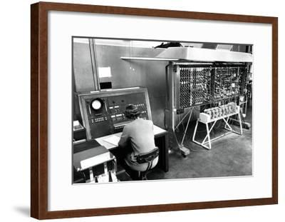 Pilot ACE Computer, 1952-National Physical Laboratory-Framed Giclee Print