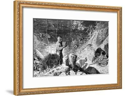 Underwater Photography, 19th Century-Science Photo Library-Framed Giclee Print