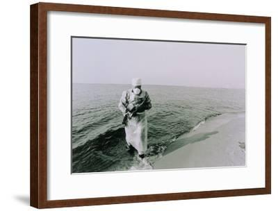 Fish Being Taken From the Chernobyl Cooling Pond-Ria Novosti-Framed Giclee Print