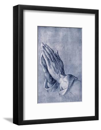 Praying Hands, Art by Durer-Sheila Terry-Framed Giclee Print