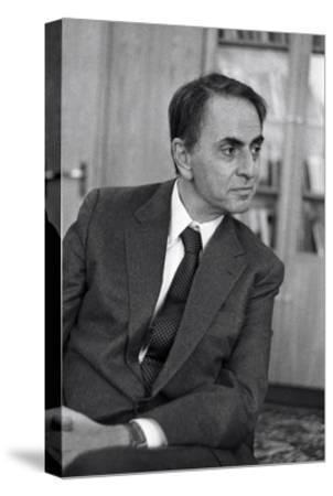 Carl Sagan, US Astronomer-Ria Novosti-Stretched Canvas Print