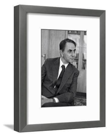 Carl Sagan, US Astronomer-Ria Novosti-Framed Giclee Print