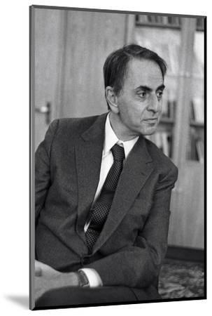 Carl Sagan, US Astronomer-Ria Novosti-Mounted Giclee Print