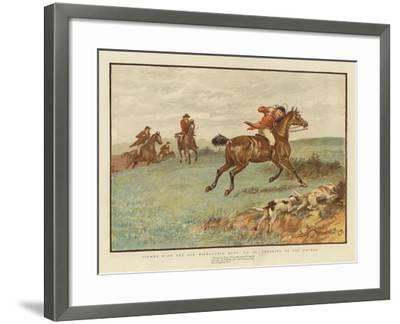 Scenes with the Old Mickledale Hunt--Framed Giclee Print