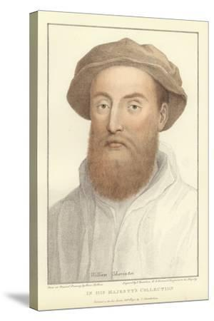 Sir William Sharington-Hans Holbein the Younger-Stretched Canvas Print