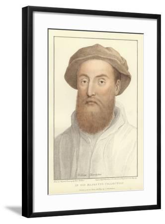 Sir William Sharington-Hans Holbein the Younger-Framed Giclee Print