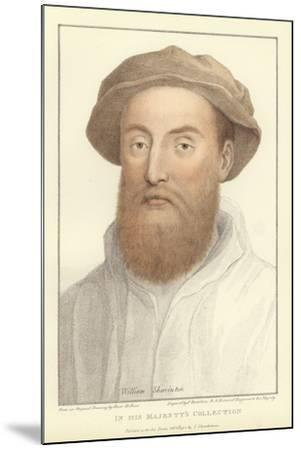 Sir William Sharington-Hans Holbein the Younger-Mounted Giclee Print