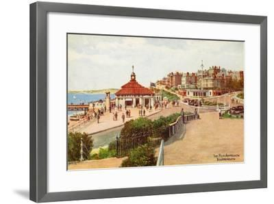 The Pier Approach, Bournemouth-Alfred Robert Quinton-Framed Giclee Print