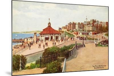 The Pier Approach, Bournemouth-Alfred Robert Quinton-Mounted Giclee Print