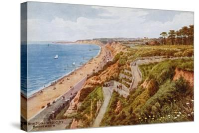 New Zig-Zag West Cliff, Bournemouth-Alfred Robert Quinton-Stretched Canvas Print