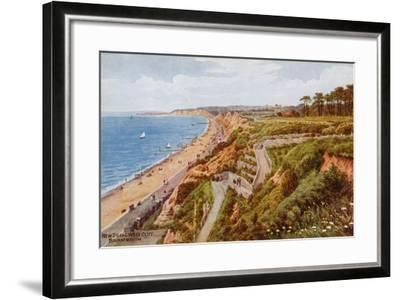 New Zig-Zag West Cliff, Bournemouth-Alfred Robert Quinton-Framed Giclee Print