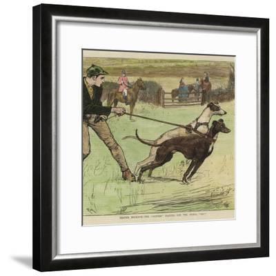 Master Magrath - the 'slipper'--Framed Giclee Print