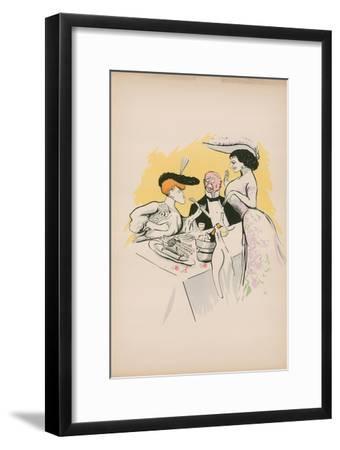 Cartoon-Sem-Framed Giclee Print
