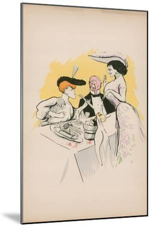 Cartoon-Sem-Mounted Giclee Print
