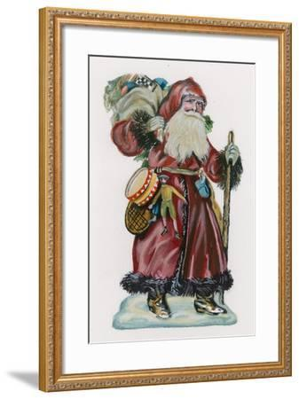 Father Christmas--Framed Giclee Print