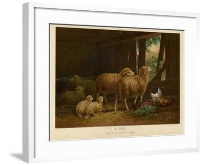 The Flock--Framed Giclee Print