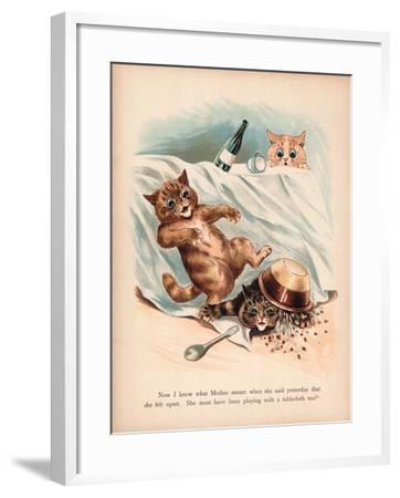 Louis Wain Cats-Louis Wain-Framed Giclee Print