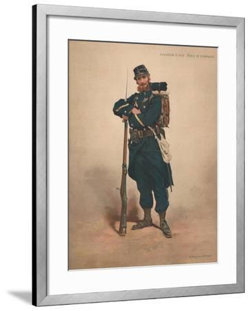 Chasseur a Pied, Tenue De Campagne--Framed Giclee Print