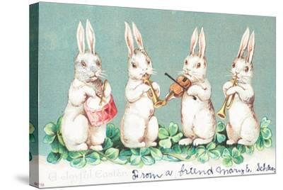 British Easter Card--Stretched Canvas Print
