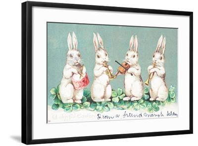 British Easter Card--Framed Giclee Print