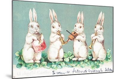 British Easter Card--Mounted Giclee Print