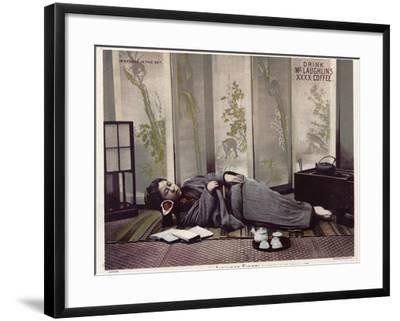 Japanese Siesta--Framed Photographic Print