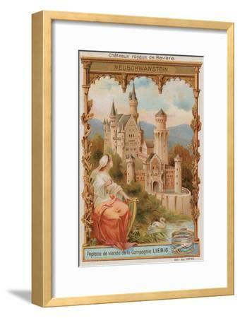 Neuschwanstein--Framed Giclee Print